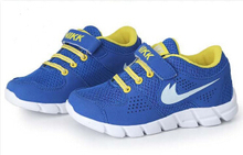 2014 new fashion boys girls running shoes breathable kids shoes Children sneakers shoes size 25 37