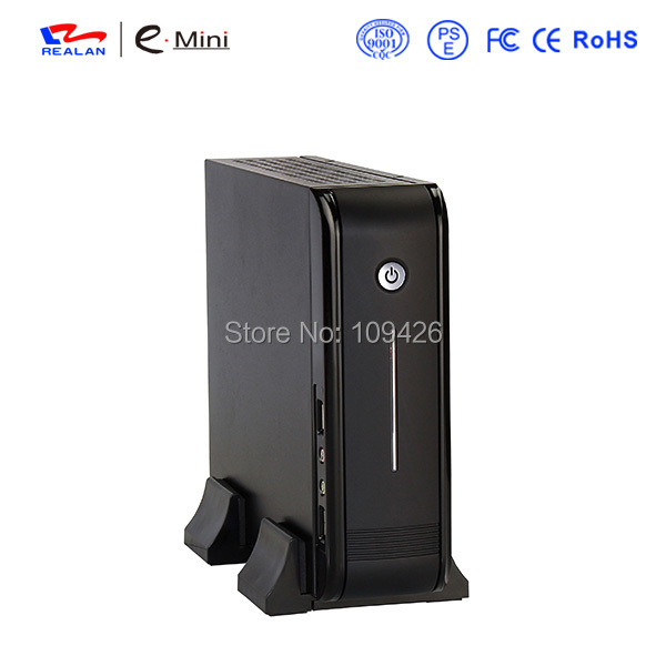 Realan Mini ITX Case E-3015 DIY Desktop PC Chassis with 120W Power Supply(China (Mainland))