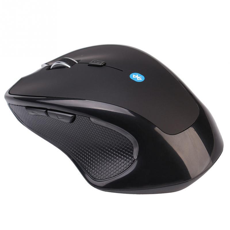 Durable Wireless Mini Bluetooth Optical Game Mouse Agile Mice Black Laptop PC(China (Mainland))