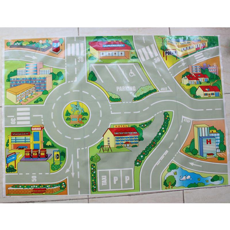 Lovely Mini Car Maps Thomas Train Traffic Map For Car
