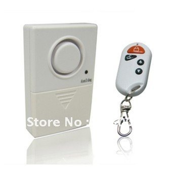 Free Shipping! Vibration Alarm Wireless remote control Door&Window,Motorcycle,Motorbike Anti-theft Alarm Shock Alarm VA-0110