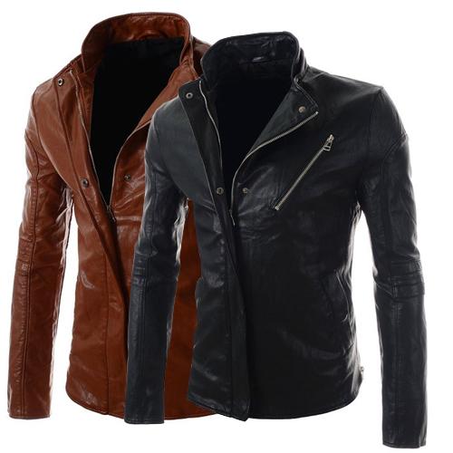 Мужские изделия из кожи и замши jaqueta chaquetas couro masculina cuir homme hombre 2015 PY01 oem 2015 carteira masculina couro qb1287