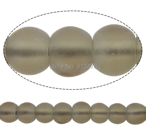 Free shipping!!!Quartz Jewelry Beads,Women Jewelry, Smoky Quartz, Round, natural, frosted, 14mm, Hole:Approx 2mm<br><br>Aliexpress