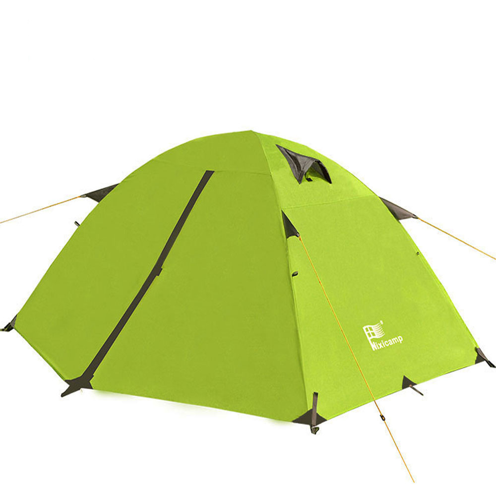 2.4KG Anti-Rainstorm Foldable Outdoor Camping Double Layer Tent For 2 Person Aluminum Poles Waterproof Coating Tent<br><br>Aliexpress