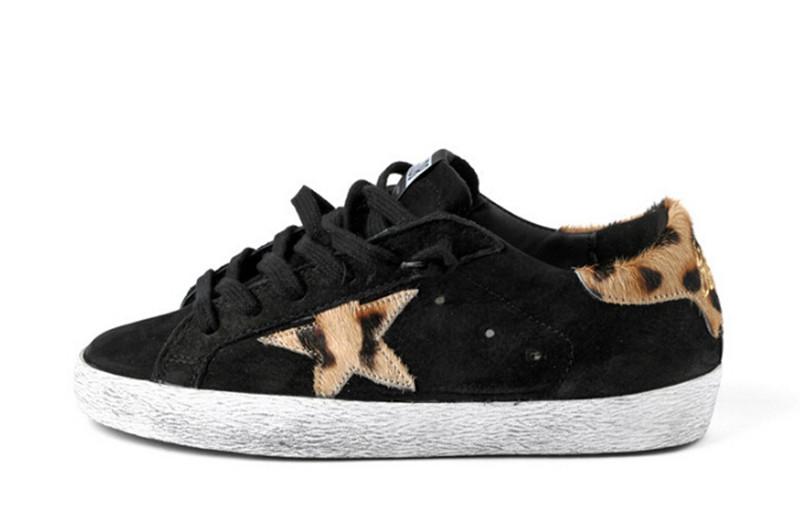 Original Italy Golden Goose Nuove Leopard Black Women Men Casual Shoes Genuine Leather GGDB Shoes Scarpe Da Ginnastica Donna<br><br>Aliexpress