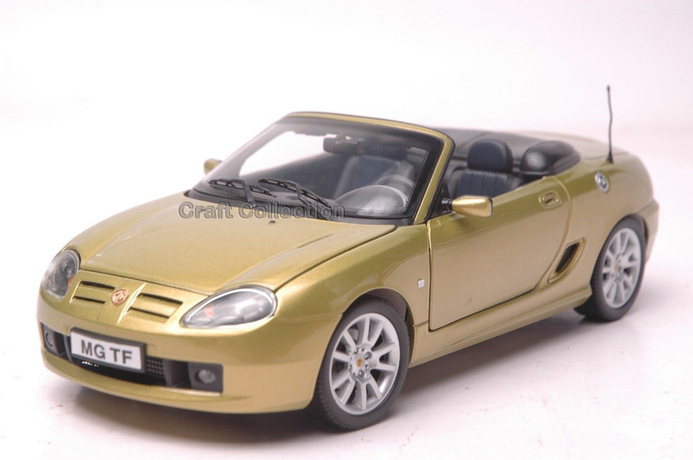 * Gold 1/18 Car Model for MG TF Cabrio Convertible Sport Car Modell Auto Hot Selling Alloy Brinquedos(China (Mainland))