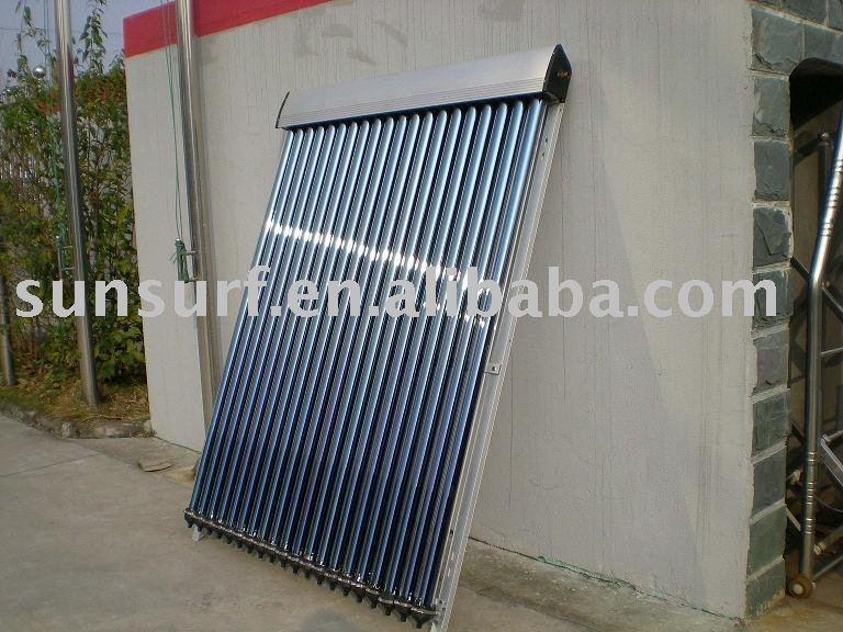 Diy heat pipe solar heating collectors ce keymark srcc for Diy solar collector