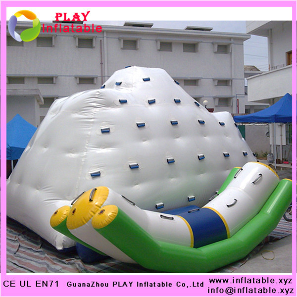 Guangzhou Play inflatable water sports inflatable water iceberg(China (Mainland))