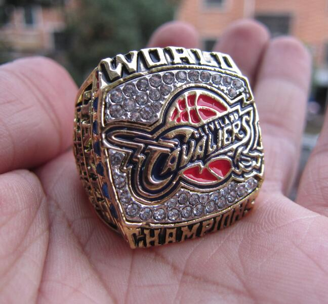 The Newest 2016 Cleveland James MVP Cavaliers National Basketball Championship Ring Solid Fan Brithday Gift Wholesale(China (Mainland))
