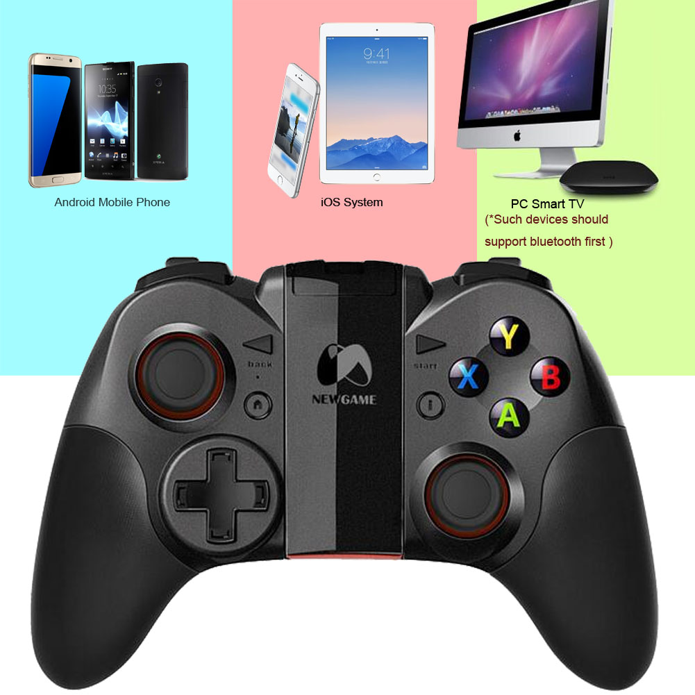Newgame N1 Pro Bluetooth Wireless Game Handle Gaming Controller Gamepad Joystick for iPhone Android Mobile Phone /Tablet/PC /TV(China (Mainland))