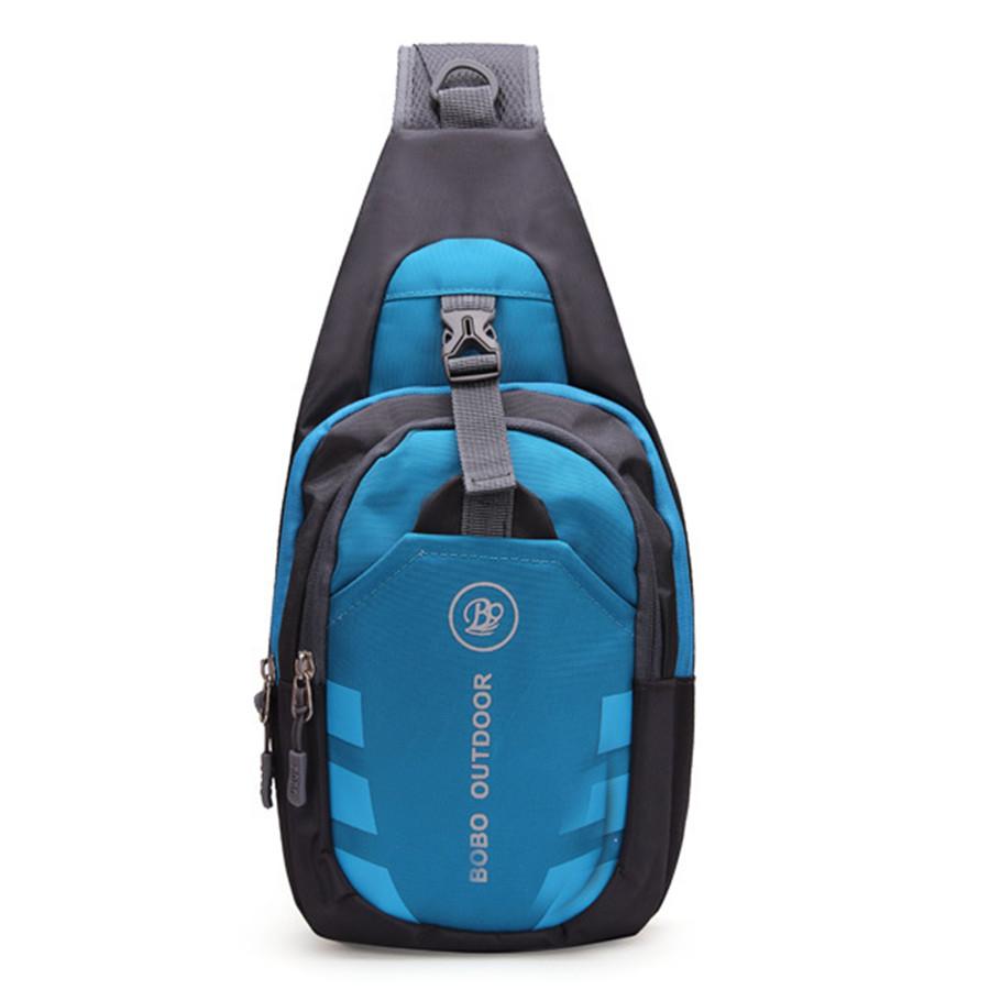 Handbags Men Women Waterproof Chest Pouch Bag Shoulder Sling Bag Nylon Cross Body Bags 2016 New Free Ship(China (Mainland))