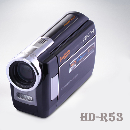RICH Brand 16MP 20x Zoom Digital Video Camera HD1080P Mini Camcorder 3.0 inch Screen FHD1080p  HD-R53<br><br>Aliexpress
