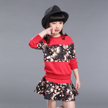 Fashion Spring baby font b girl b font font b clothing b font sets font b