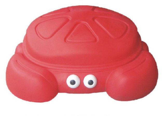 New Crab plate plastic toy