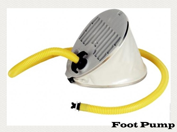 High quality and practical Foot pump for inflatable boat Q7 5L(China (Mainland))