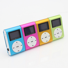 New style Mini USB Clip MP3 Player LCD Screen Support 1-8GB Micro SD TF Card Digital Mp3 players free shipping(China (Mainland))