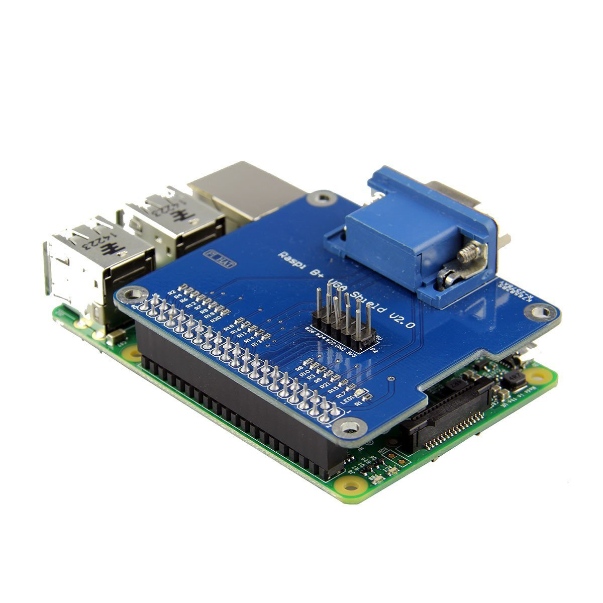 vga shield v2 0 expansion board for for raspberry pi 3b 2b rh sites google com