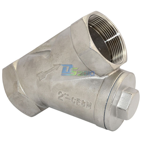 Quot wye strainer mesh filter valve wog stainless steel