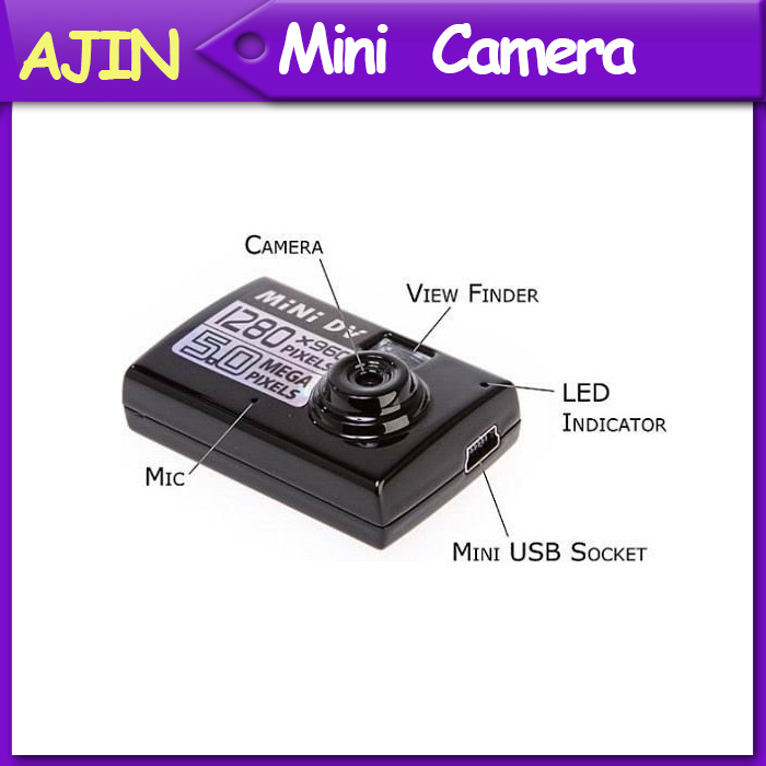 Smallest Mini DV DVR Video/Sound Camera Recorder Webcam Motion Detect Actived 720*480(China (Mainland))