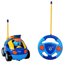 1 Pcs New Arrival Cute Kids Remote Control Car 2 Channels RC Car Control Toys for Boys And Girls(China (Mainland))