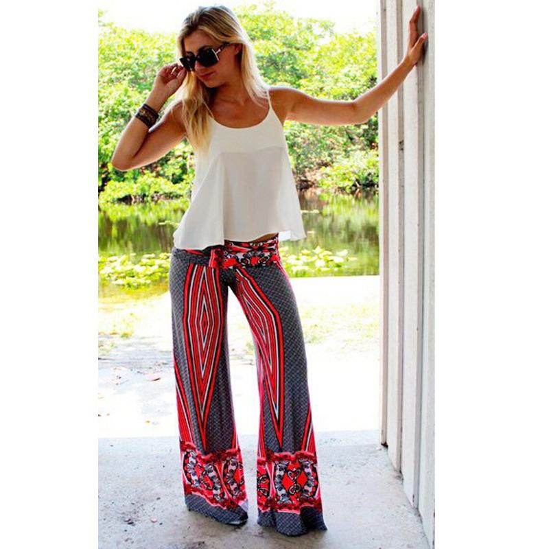 Wide Leg Linen Pants Pattern
