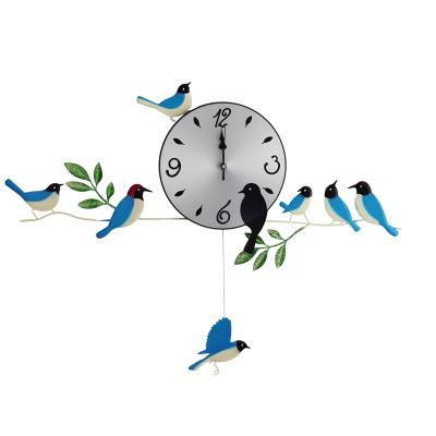 acheter oiseau horloge murale 2014 horloge murale maison s curitaire d coration. Black Bedroom Furniture Sets. Home Design Ideas
