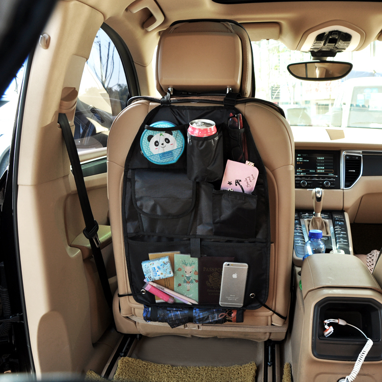 Car Multi storage bag Hot Sale Vehicle Seat Pocket Holder Free Shipping trunk auto accessories tidying clean tools(China (Mainland))