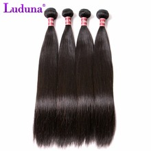 7A Raw Virgin Indian Hair Straight Virgin Hair Indian Virgin Hair Straight 4 Bundles Cheap Bundles Of Weave Remy Hair Extensions(China (Mainland))