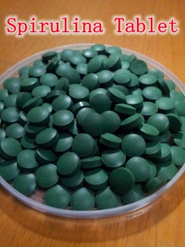 2000Counts x 250mg Natural Organic Spirulina Tablet Enhance immunity free shipping