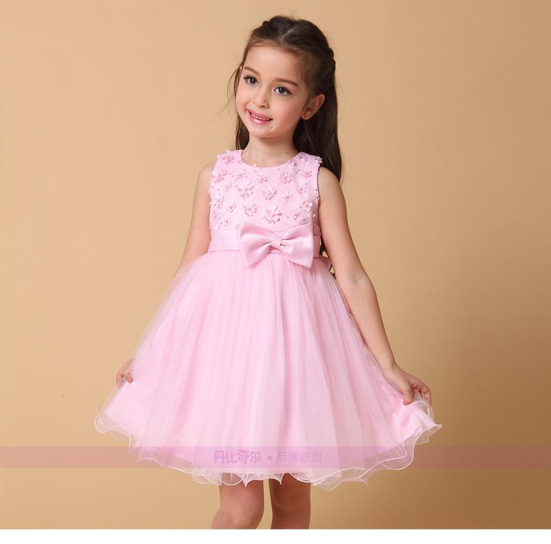2015 summer styles dresses sequin beaded decoration for girls sleeveless dress dresses, seersucker dress free shipping<br><br>Aliexpress