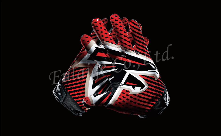 Atlanta Falcons Glove 3x5 ft flag 100D Polyester flag 90x150cm NFL custom american football gloves flag(China (Mainland))