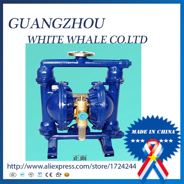 QBY-25 Flange connection 304 stainless steel pneumatic diaphragm pump for Tile and porcelain(China (Mainland))