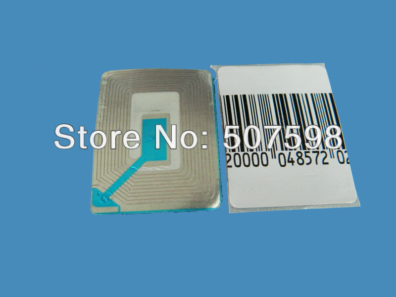 40x30mm RF soft label, 20000PCS per lot, suitable with all eas systems RF 8.2mhz(China (Mainland))