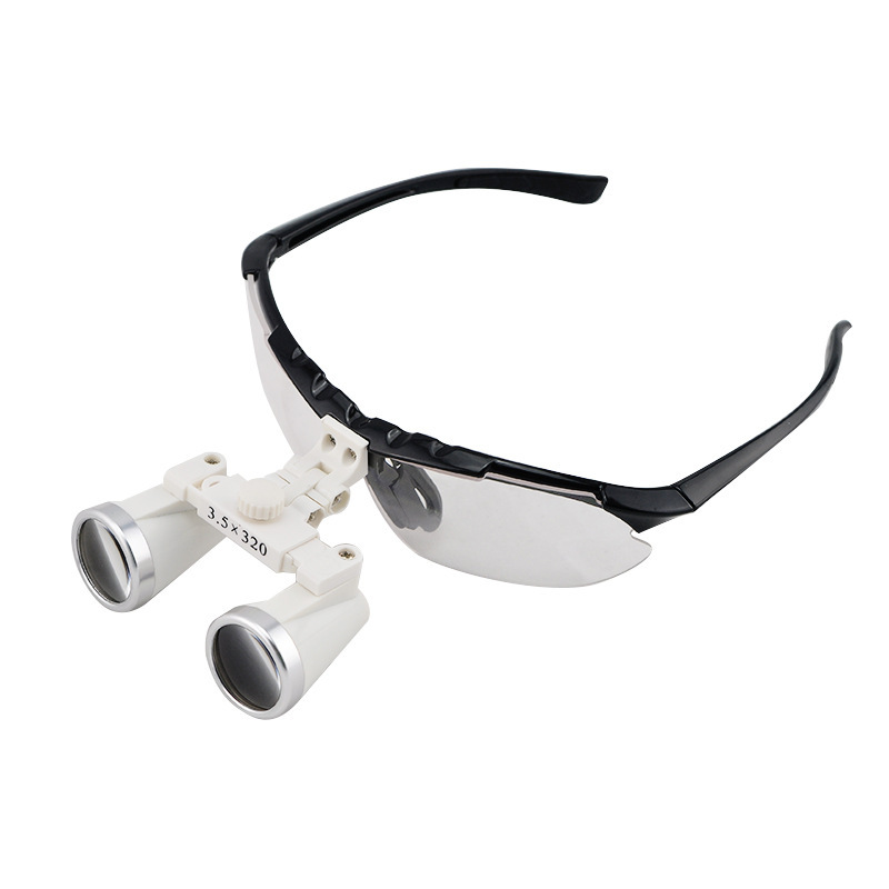 High Quality Ultra-Light 3.5X Medical magnifying glass Surgical loupes Dental Loupes medical loupes Black Color<br><br>Aliexpress