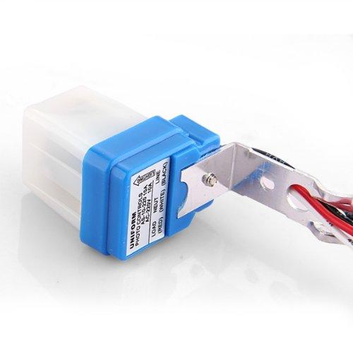 Unique Sale Commutateur Interrupteur Automatique Capteur Light AC220V Pour Lampe
