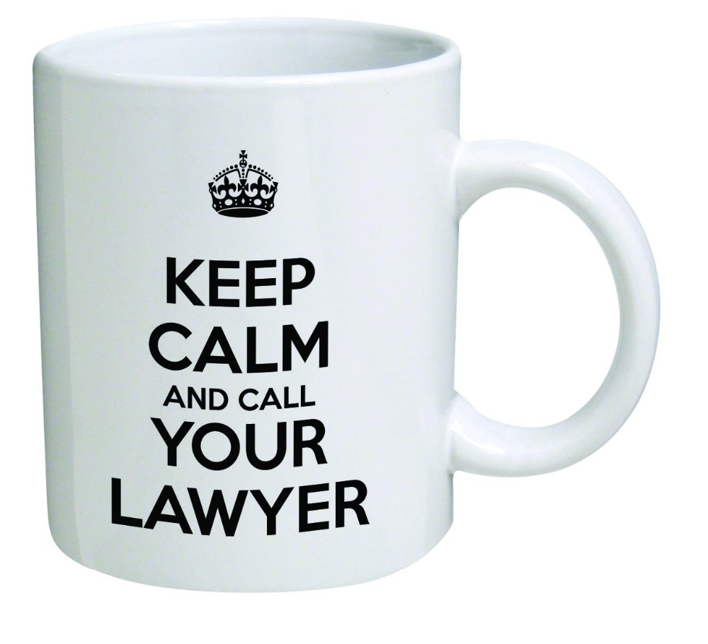 Keep calm and call your lawyer, attorney morphing coffee mugs transforming morph mug heat changing color ceramic Tea Cups cup(China (Mainland))