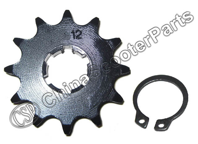 12 Tooth 420 20MM Front Sprocket For Taotao 12T Lifan Rocket Honda Dirt bike ATV 50CC 70CC 90CC 110CC 125CC 140CC 150CC 160CC(China (Mainland))