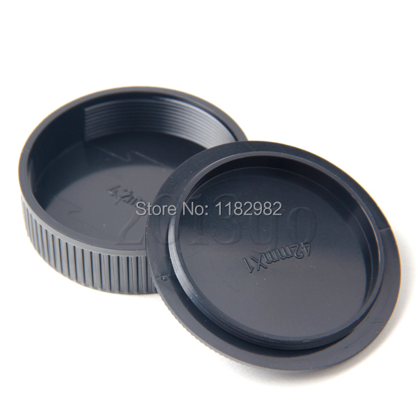 42mm 100 PCS Front Body Cover +100 PCS Rear Lens Cap for M42 Camera Body and Lens YG<br><br>Aliexpress