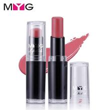 Hot Brand Matte Lipstick 100% High Quality Makeup Natural Long Lasting Lip Balm Velvet Beauty Color Waterproof Labiales Lipstick(China (Mainland))