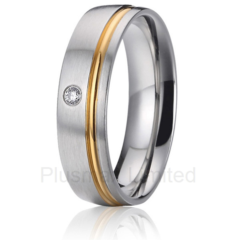 Professional and reliable jewelry seller offer a vast assortment of engagement wedding band titanium rings<br><br>Aliexpress