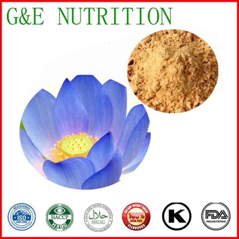 100% Natural Blue Lotus Extract Powder  10:1 700g