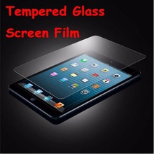 Hot Tempered Glass/Clear/ Film Cover Front Screen Protector For iPad Mini 2 3(China (Mainland))