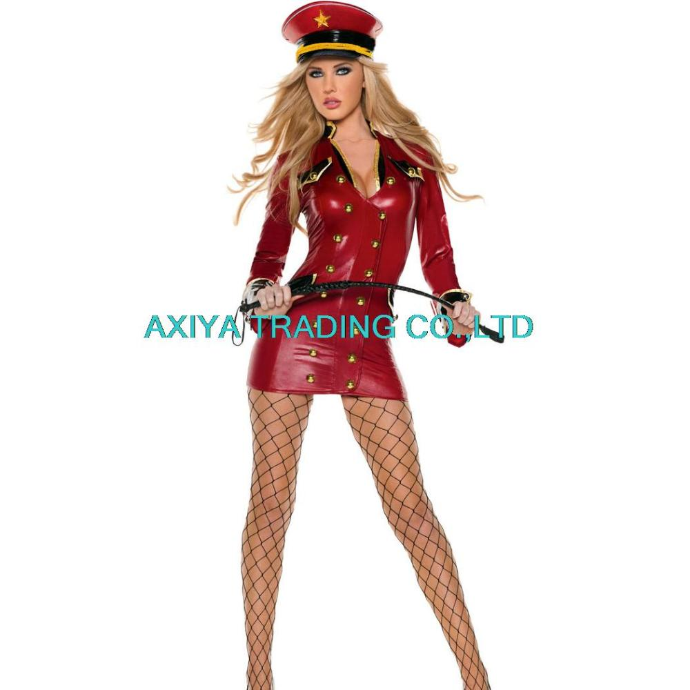 Sexy women cosplay Party costumes Red Army Girl Costume Costume Adult cosplay halloween fantasias costumes for women Одежда и ак�е��уары<br><br><br>Aliexpress