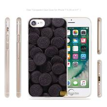 biscuits chocolate food Transparent Case Cover apple iphone 4 4s 5 5s SE 6 6s 7 7s plus i4 i5 i6 i7 - AlexMohoo Store store
