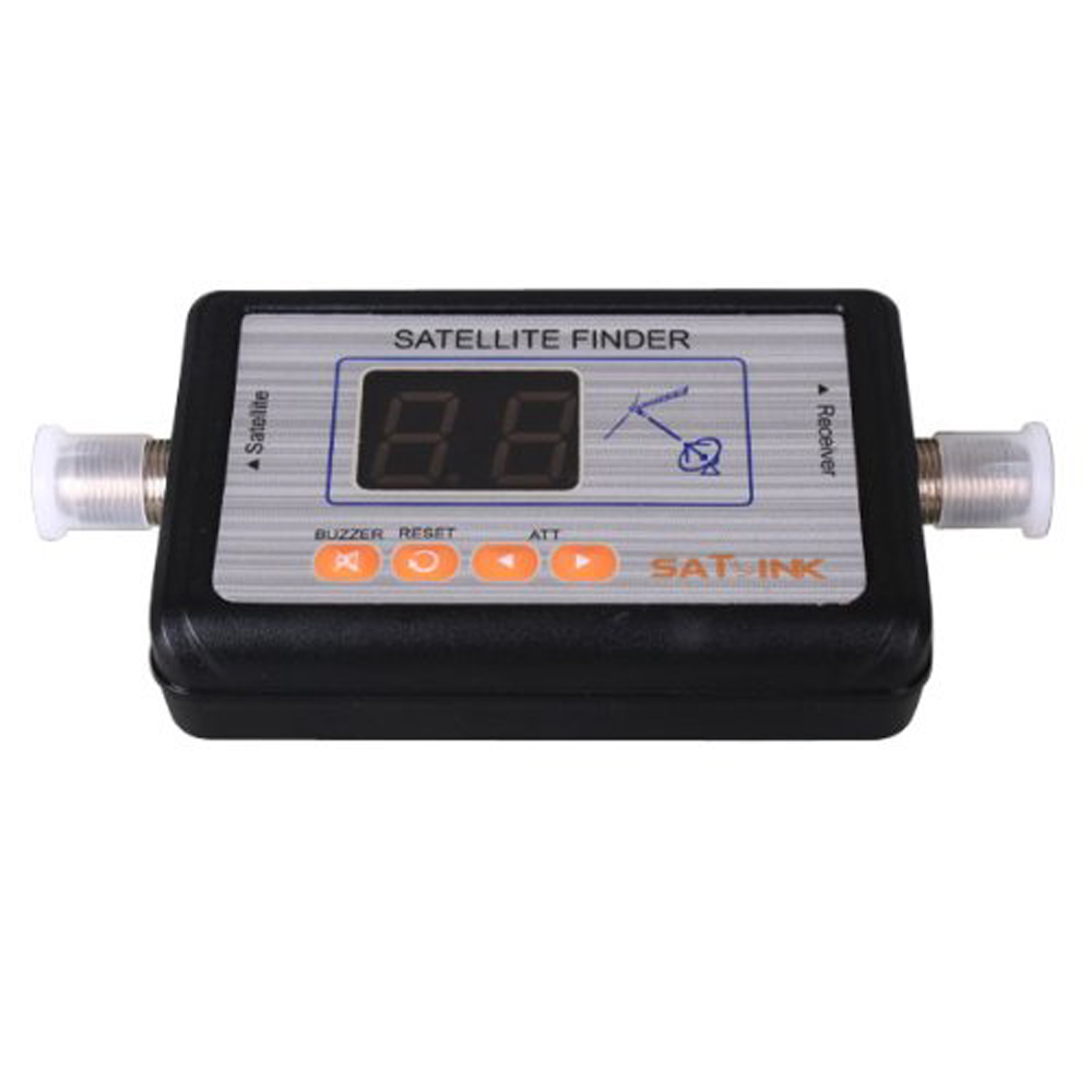It's hot!WS-6903 Digital Satellite Finder Meter LCD Display TV Signal Finder(China (Mainland))
