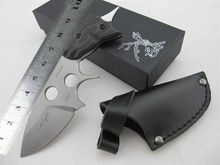 High Qualtiy ! Germany Bohr GARRISON FIXED Blade Knife 440 Blade Hunting Knife /Camping tool Survival Outdoor tool Free Shipping