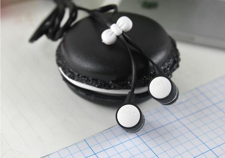 3.5mm Top Quality Birthday Gift Macaron Earphone Headphones Headset For Xiaomi Samsung iPhone HTC Sony etc
