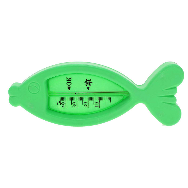 Floating Fish Shape Baby Infants Thermometer Bathing Water Temperature Measuring(China (Mainland))
