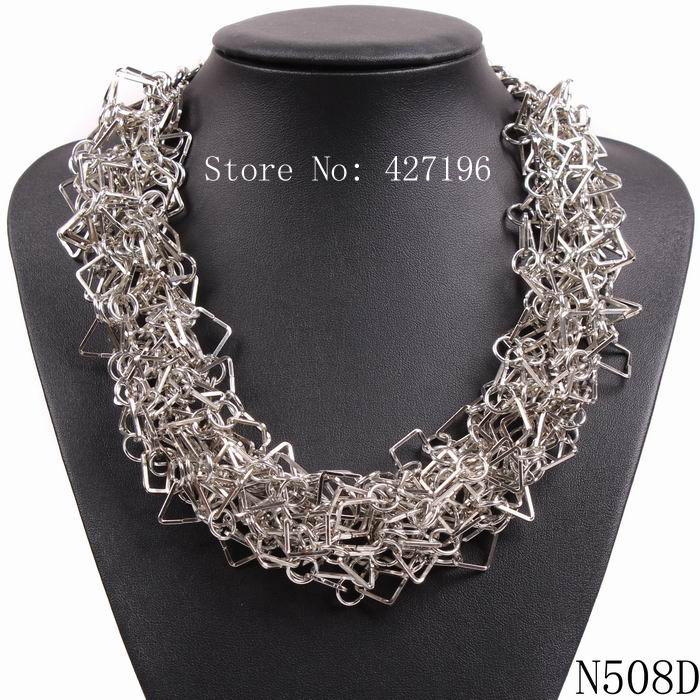 Chinese market product high quality factory direct sale luxurious elegant jewellery colorful collar necklace for female(China (Mainland))