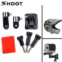 Free Shipping 360 Degree Rotate Adjust  Helmet Mount Adapter Lock Tripod Mount For Gopro Hero 3 3+ 4